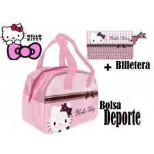 BOLSO DE HELLO KITTY CON CARTERA A JUEGO