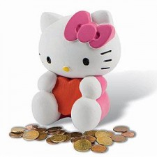 HUCHA DE HELLO KITTY