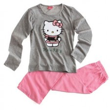 PIJAMA DE HELLO KITTY GRIS