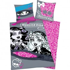 FUNDA NORDICA DE REVERSIBLE MONSTER HIGH