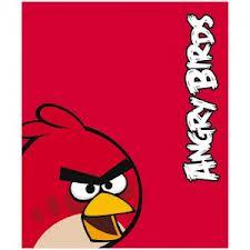 MANTA POLAR ROJA DE ANGRY BIRDS