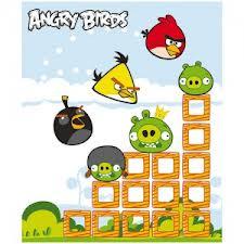 MANTA POLAR DE ANGRY BIRDS