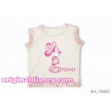 CAMISETA DE MINNIE BEBE BORDADA